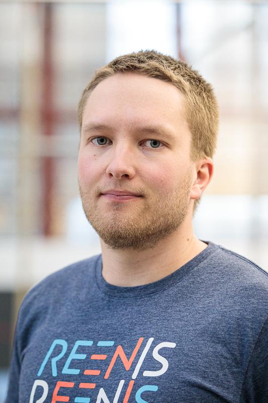 Reenis henkilökunta Ville Lotvonen