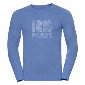 RS Parks pitkänhihainen t-paita miehet sininen